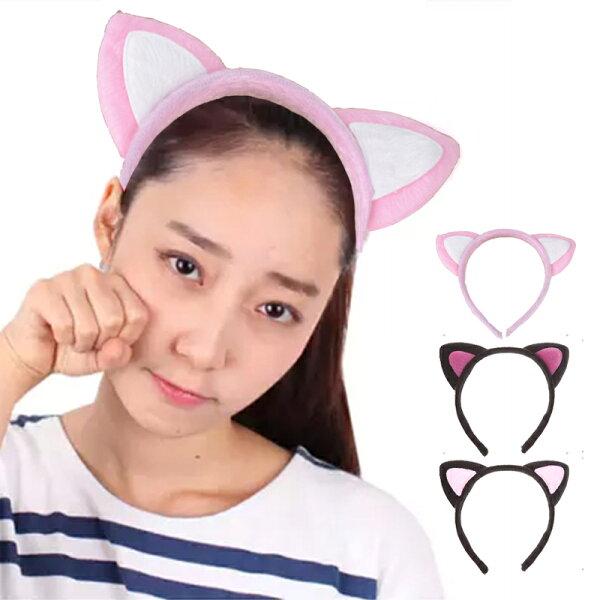 韓國時尚貓耳朵髮箍 IF0228