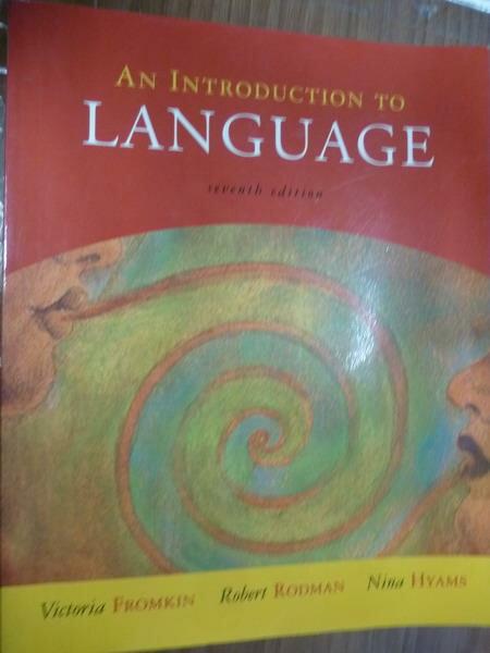 ~書寶 書T1/大學文學_QJV~An Introduction…Language_7 e