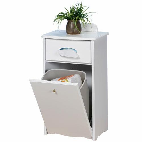 《YoStyle》典雅歐風垃圾桶櫃(二色可選)