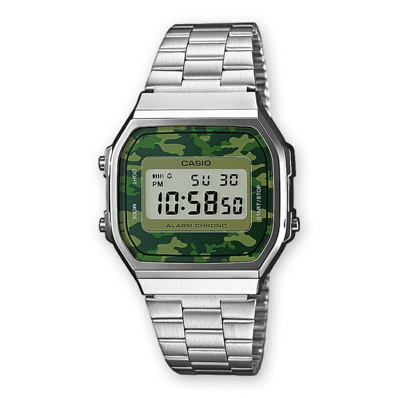CASIO Camouflage A168WEC-3 0