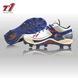 T1-pro/中華隊特別款低筒/膠釘/專業棒球鞋/T14Q1CTBS008M/棒壘球