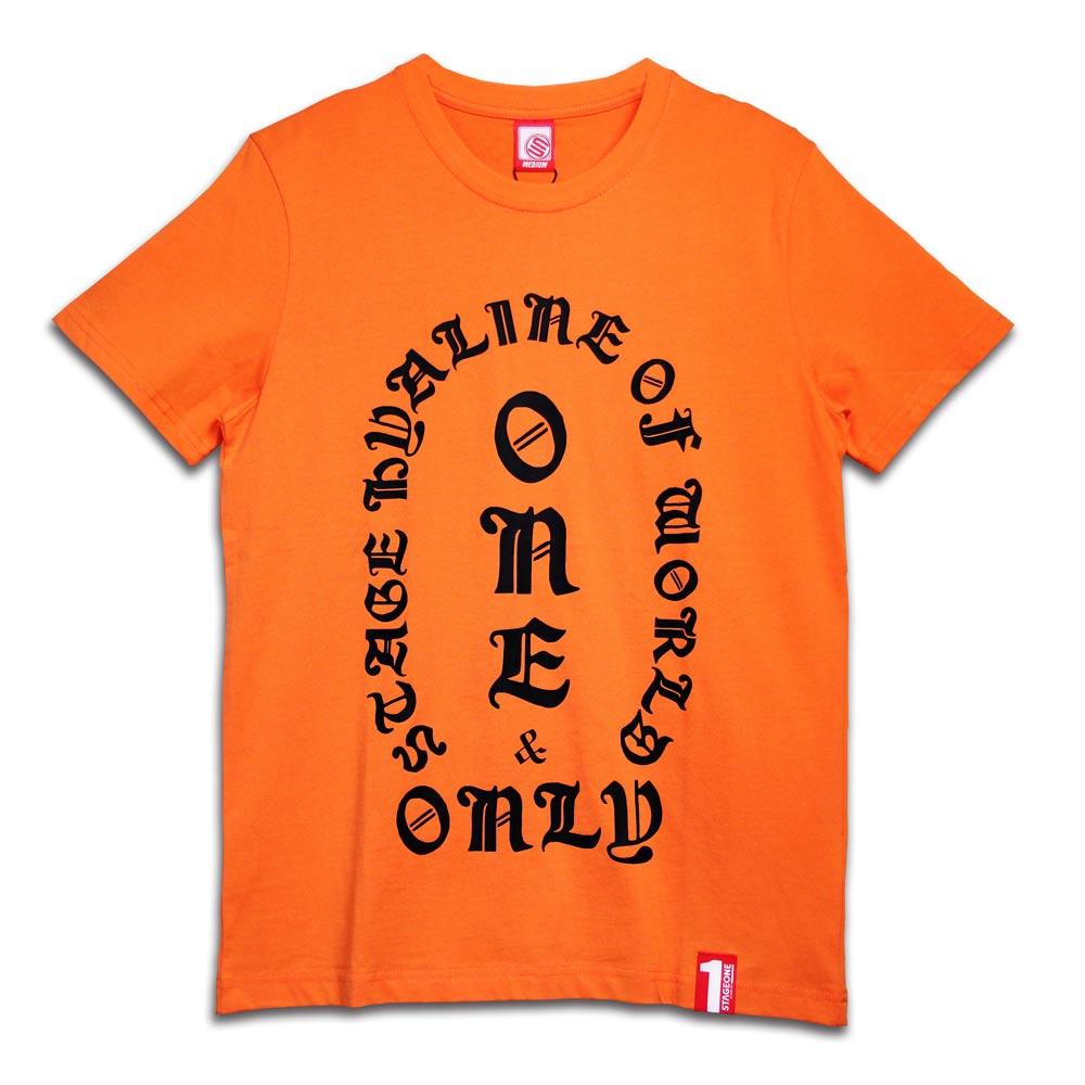 STAGEONE ONE SOUL TEE 黑色 / 橘色 兩色 6