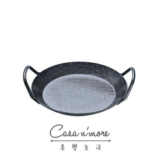 Turk 鐵鍋 平底鍋 斜格紋 雙耳鍋 28 cm 德國製