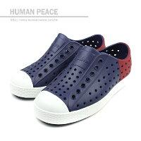 native 輕量懶人鞋、休閒防水鞋到native JEFFERSON BLOCK CHILD 洞洞鞋 藍 小童 no376