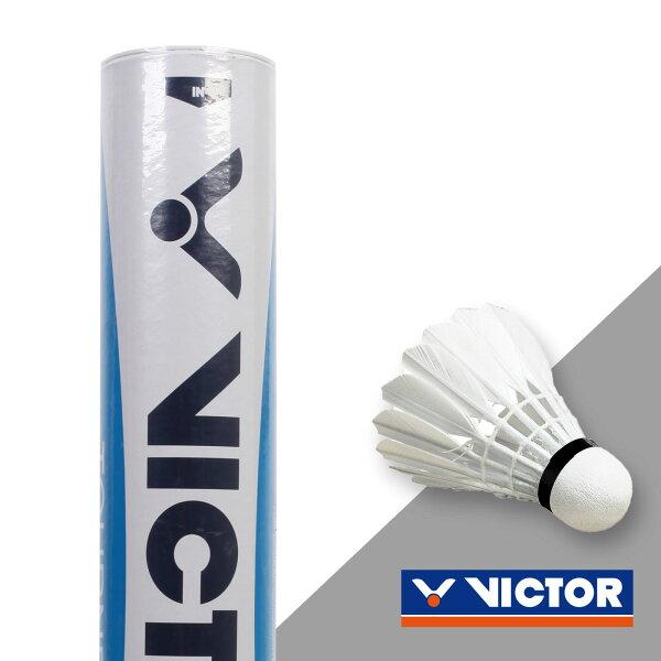 VICTOR 實用級羽球水藍標(勝利 羽球 12入【99300375】≡排汗專家≡