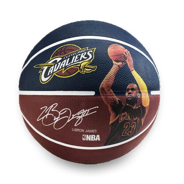 SPALDING 騎士-詹姆士 Lebron James #7 籃球(斯伯丁 七號球 NBA【99301436】≡排汗專家≡