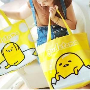 美麗大街【105051010】蛋黃歌單肩提袋 購物袋
