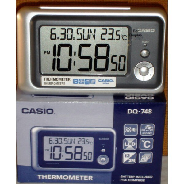 Despertador Casio DQ-748-8E 0