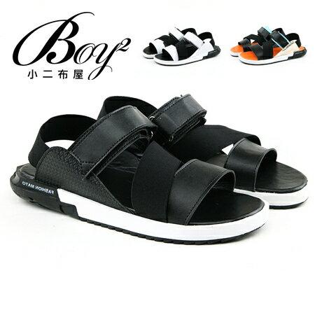 ☆BOY-2☆【JP99019】涼鞋 韓版潮流皮革休閒鞋 0