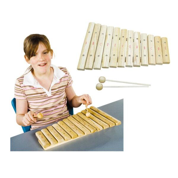 【華森葳兒童教玩具】樂器教具系列-木琴 H3-DMM071 (華森葳系列消費1500元加贈赫利手動炫光風扇)