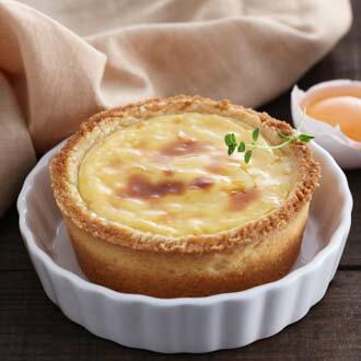 ~~TOP新星~德式芒果乳酪塔3顆入,選自愛文芒果與 乳酪,香醇濃郁,塔皮酥脆,內餡 著層