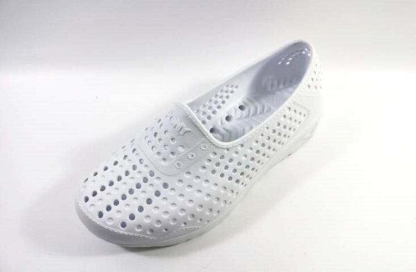 [陽光樂活] PONY ✨ GOGO鞋 雨鞋 防水透氣 水陸兩棲鞋 親子鞋(童)  - 62K1SA61SW (白)