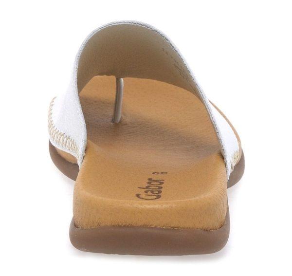 Gabor 歐美時尚夾趾涼拖鞋 銀 4