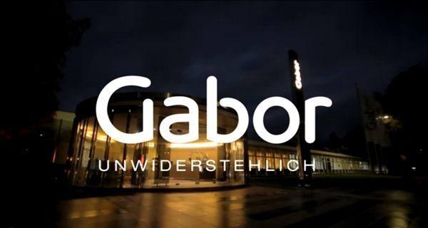 Gabor 修身輕躍 時尚金屬扣飾楔型涼鞋 黑 4