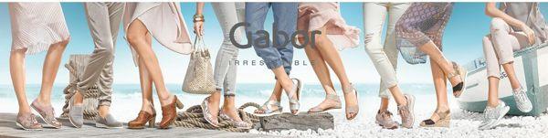 Gabor 85折! 現代感蛇紋扣飾低跟涼鞋 5