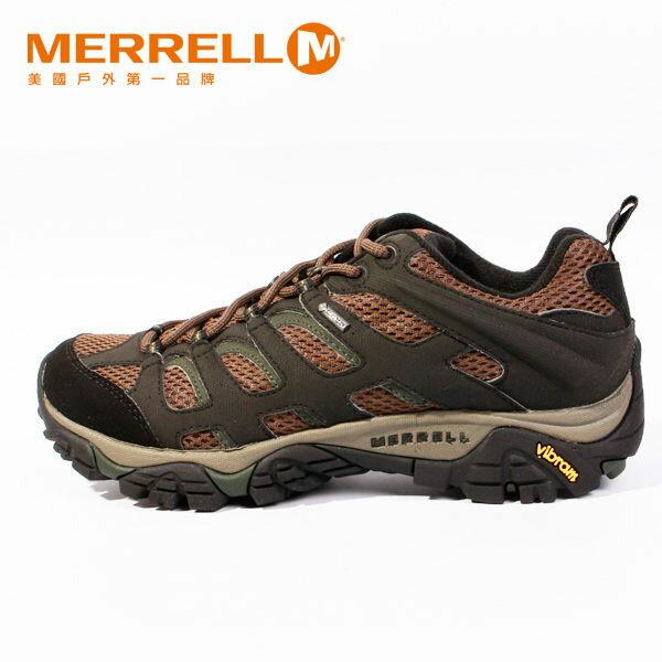MERRELL MOAB GORE-TEX 戶外健行系列 男 咖啡 防水登山鞋│健行鞋│休閒鞋 0