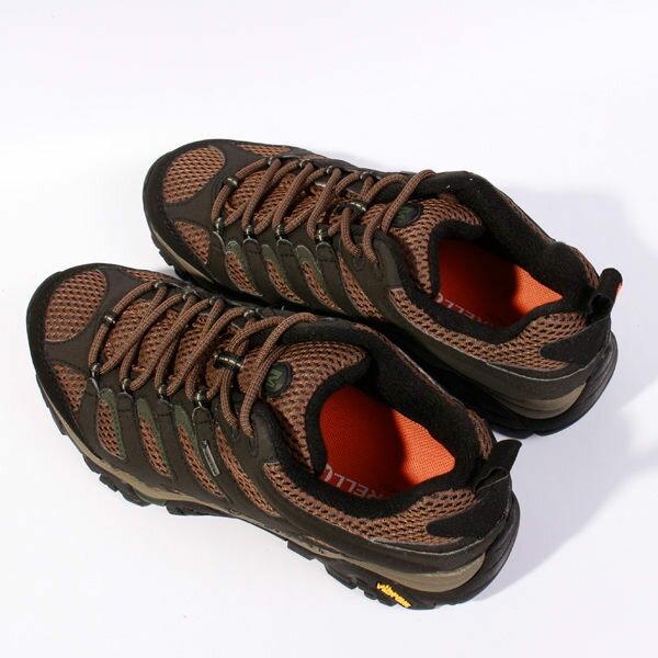 MERRELL MOAB GORE-TEX 戶外健行系列 男 咖啡 防水登山鞋│健行鞋│休閒鞋 3