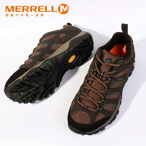 MERRELL MOAB GORE-TEX 戶外健行系列 男 咖啡 防水登山鞋│健行鞋│休閒鞋 4