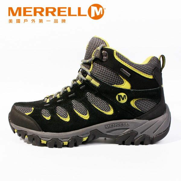 MERRELL RIDGEPASS MID GORE-TEX®多功能健行系列 黃 男 防水登山鞋│健行鞋│休閒鞋 3