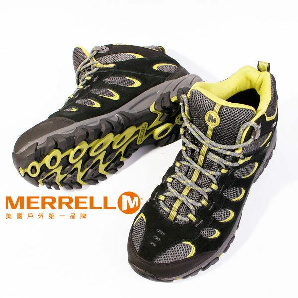 MERRELL RIDGEPASS MID GORE-TEX®多功能健行系列 黃 男 防水登山鞋│健行鞋│休閒鞋 4