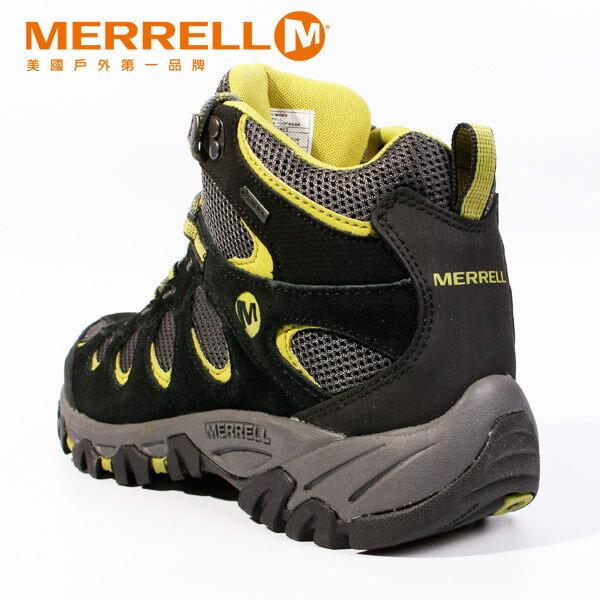 MERRELL RIDGEPASS MID GORE-TEX®多功能健行系列 黃 男 防水登山鞋│健行鞋│休閒鞋 6