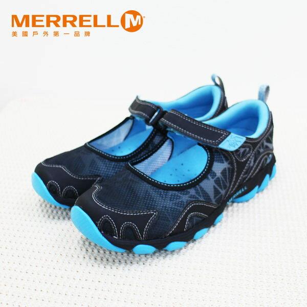 Merrell女水陸兩棲運動鞋 深藍 0