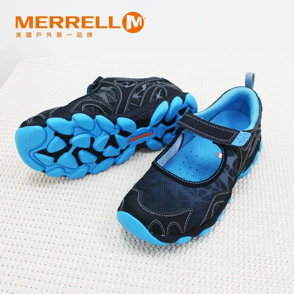 Merrell女水陸兩棲運動鞋 深藍 1