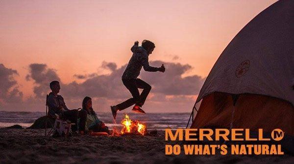 Merrell女水陸兩棲運動鞋 紫粉 1