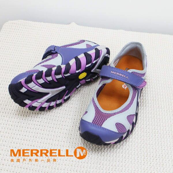 Merrell女水陸兩棲運動鞋 紫粉 3
