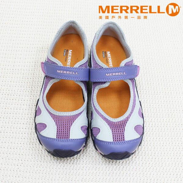 Merrell女水陸兩棲運動鞋 紫粉 4