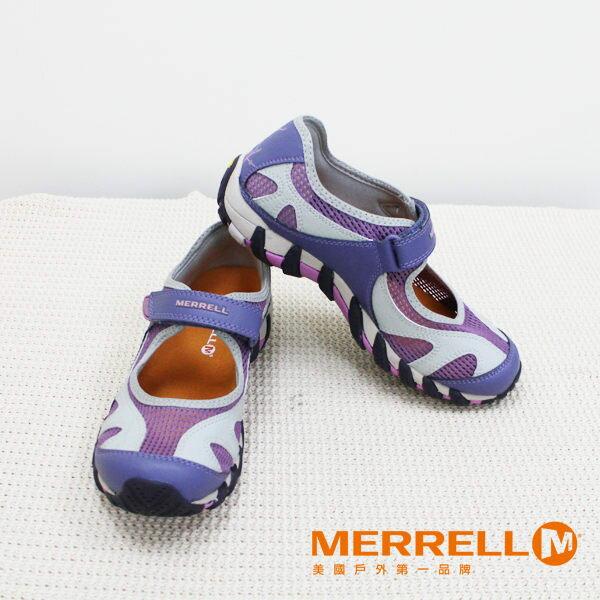 Merrell女水陸兩棲運動鞋 紫粉 5