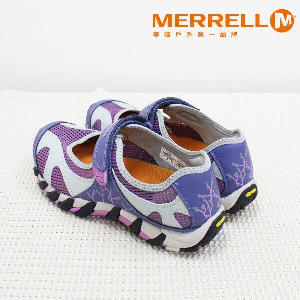 Merrell女水陸兩棲運動鞋 紫粉 6