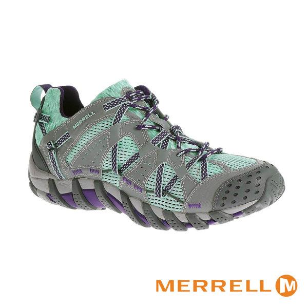 MERRELL 水陸兩棲運動女鞋 青綠 0