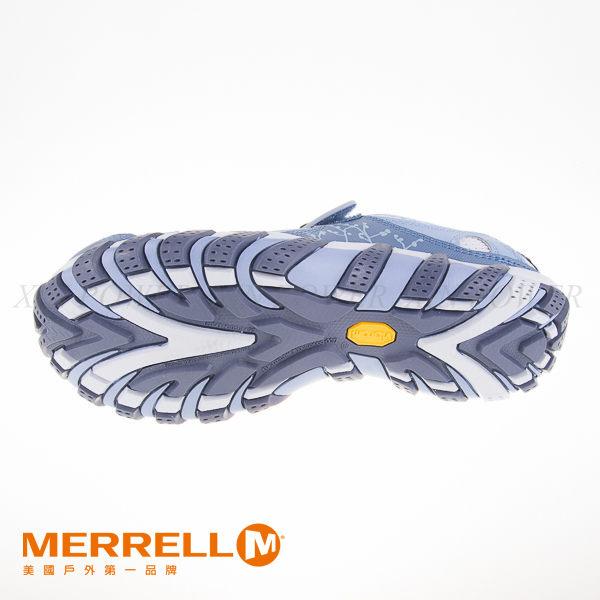MERRELL 水陸兩棲多功能涼鞋 水藍 3