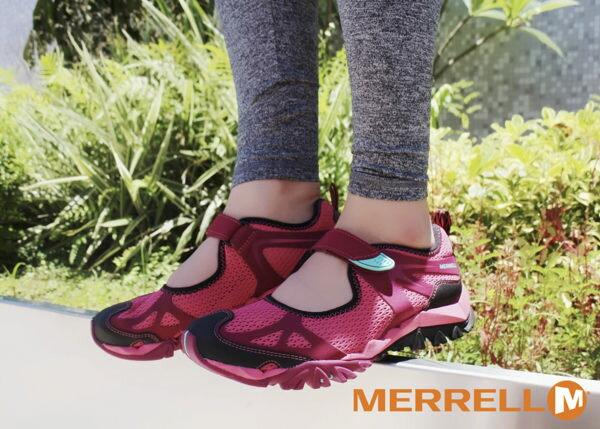 MERRELL 水陸兩棲多功能涼鞋 深紅 0
