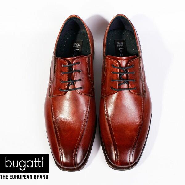Bugatti 德國工藝 高級皮鞋 防潑水 男 3