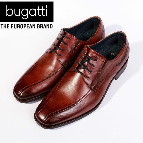 Bugatti 德國工藝 高級皮鞋 防潑水 男 2