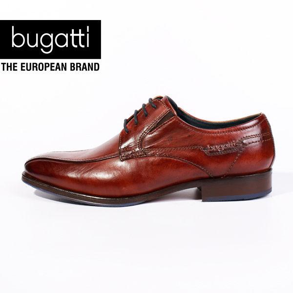 Bugatti 德國工藝 高級皮鞋 防潑水 男 0