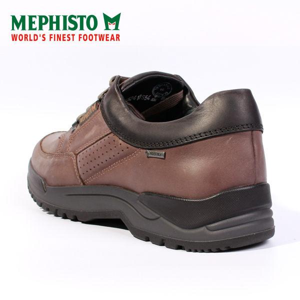 Mephisto 皮革綁帶休閒鞋 男 黑 6