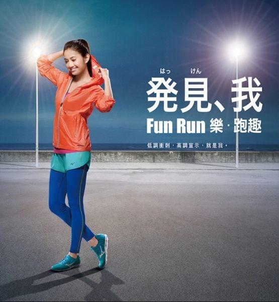 Mizuno wave系列女慢跑鞋 黑粉 4