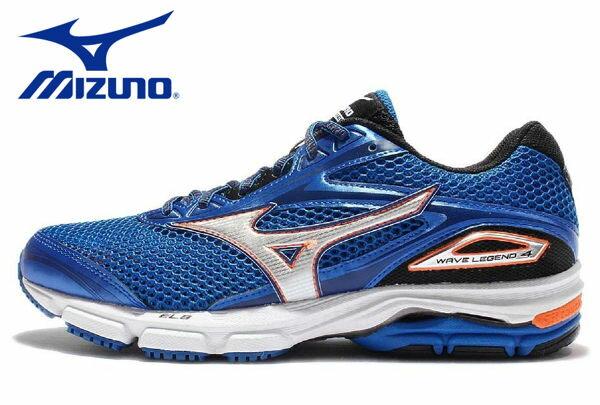 Mizuno Wave 男慢跑鞋 WAVE ENIGMA 5 藍 0
