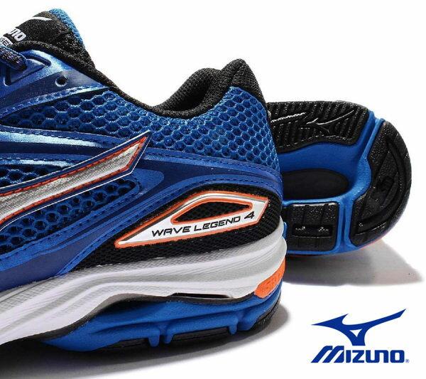 Mizuno Wave 男慢跑鞋 WAVE ENIGMA 5 藍 5