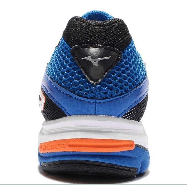 Mizuno Wave 男慢跑鞋 WAVE ENIGMA 5 藍 7