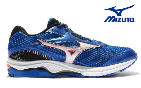 Mizuno Wave 男慢跑鞋 WAVE ENIGMA 5 藍 2