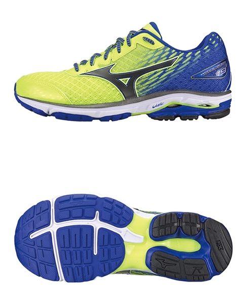 Mizuno Wave 男慢跑鞋 WAVE ENIGMA 5 銀光黃 1