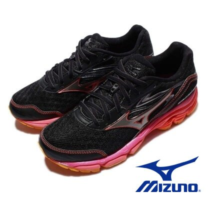 Mizuno 慢跑鞋 Wave Inspire 路跑 女鞋 1