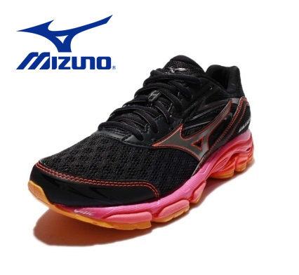 Mizuno 慢跑鞋 Wave Inspire 路跑 女鞋 2