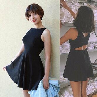 K style 性感露腰背心洋裝連身裙【BQ4302700】