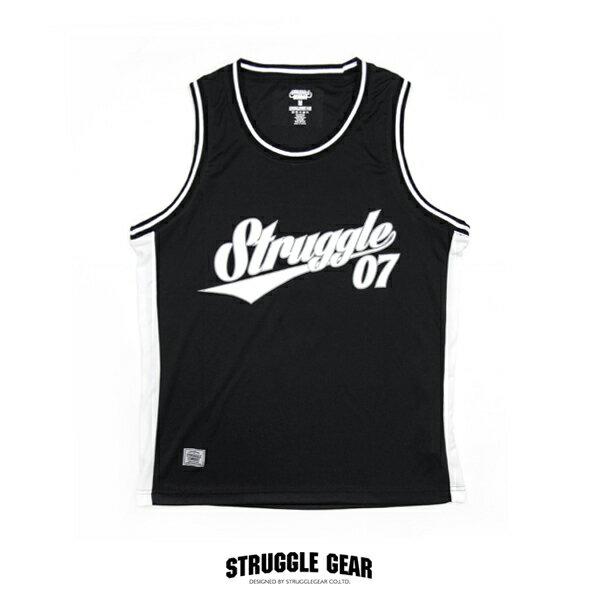 【S.C.G】Struggle NO7 球衣「黑色」scg07