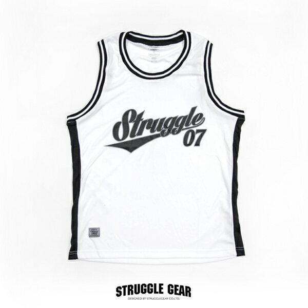 【S.C.G】Struggle NO7 球衣「白色」scg07